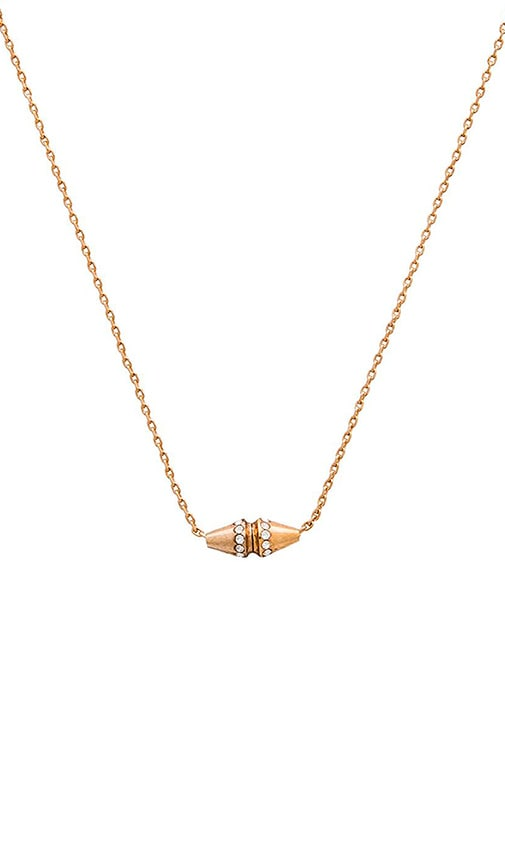 Vita Fede Renata Crystal Necklace in Gold & Rose Gold & Silver