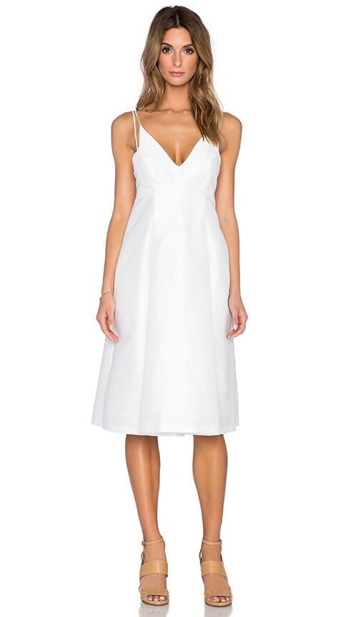 VIVIAN CHAN Cari Dress in White