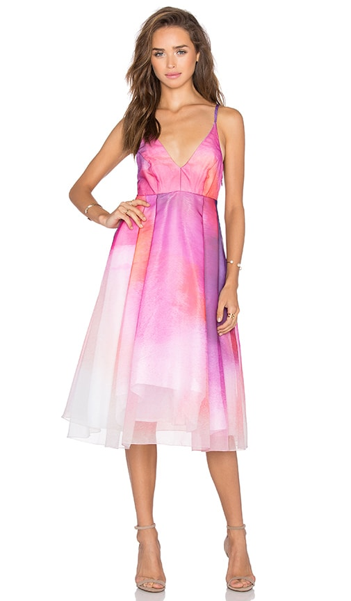 VIVIAN CHAN Hannah Dress in Pink