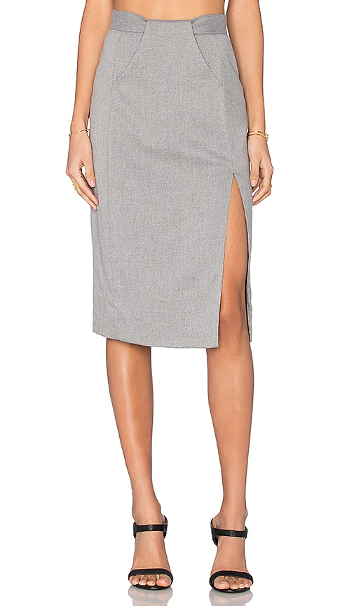 VIVIAN CHAN Polina Skirt in Gray