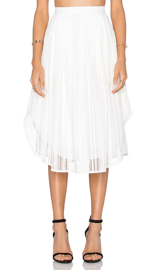 VIVIAN CHAN Juliet Skirt in White