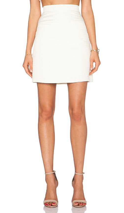 VIVIAN CHAN Whitney Skirt in Vanilla