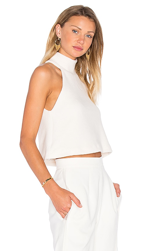VIVIAN CHAN Genevieve Top in White