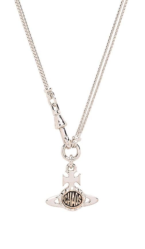Vivienne Westwood Cael Orb Pendant in Metallic Silver