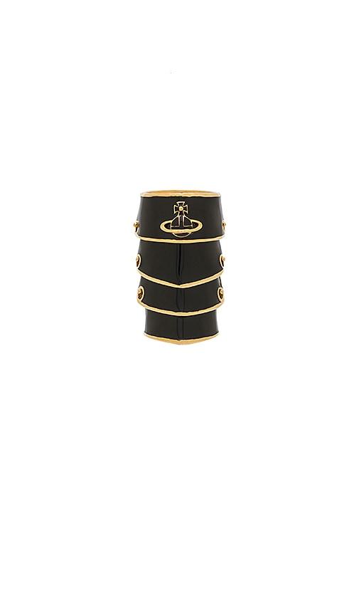 Vivienne Westwood Artemis Enamel Ring in Black jSwMcXe