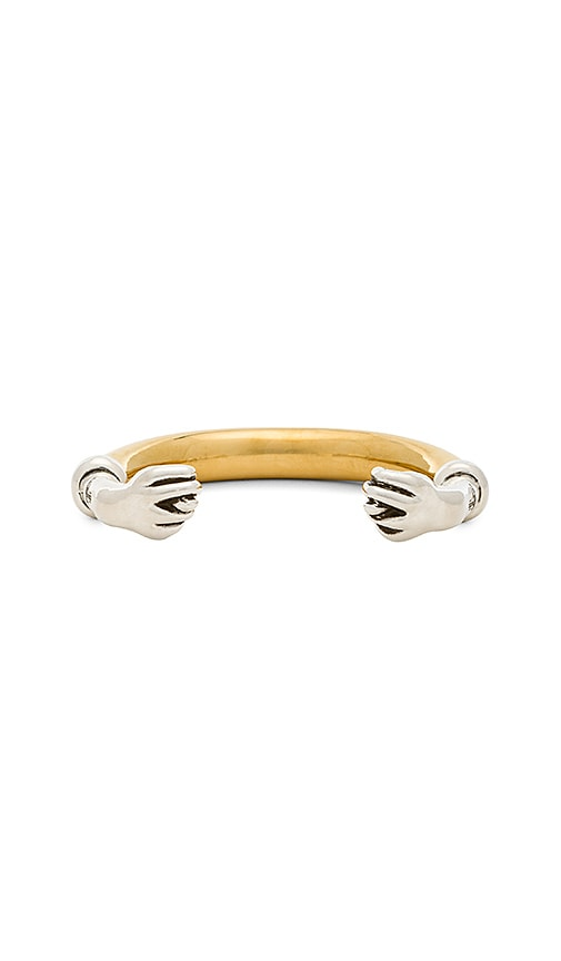 Vivienne Westwood Konstantin Figa Bangle in Metallic Gold