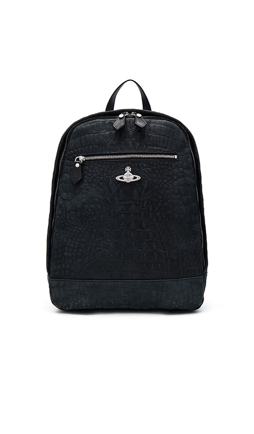 Vivienne Westwood Amazon Man Backpack in Black