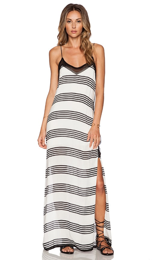 Vix Swimwear Nina Maxi Dress in Stripes