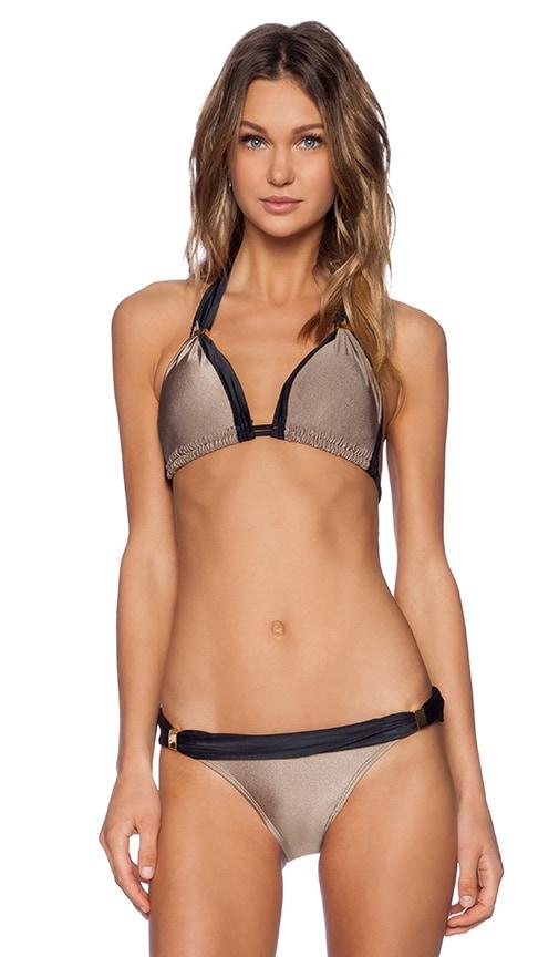 vix swimwear betsey bia tube bikini top in shitake revolve. Black Bedroom Furniture Sets. Home Design Ideas