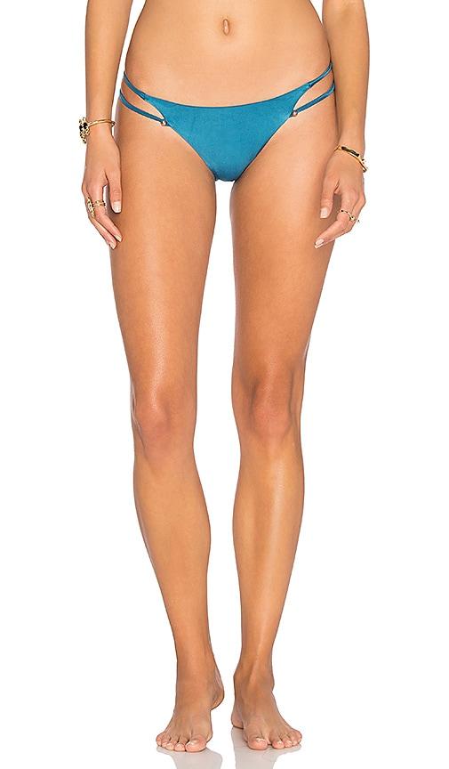 Vix Swimwear Piercing Bikini Bottom in Teal