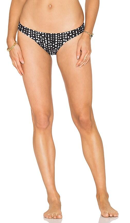 Vix Swimwear Dot Basic Bikini Bottom in Black
