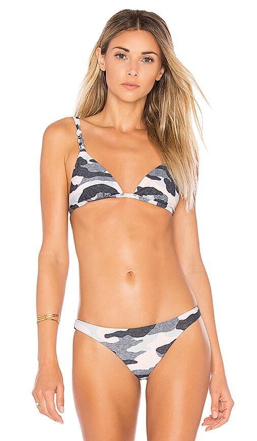 Vix Swimwear Rope Top in Gray