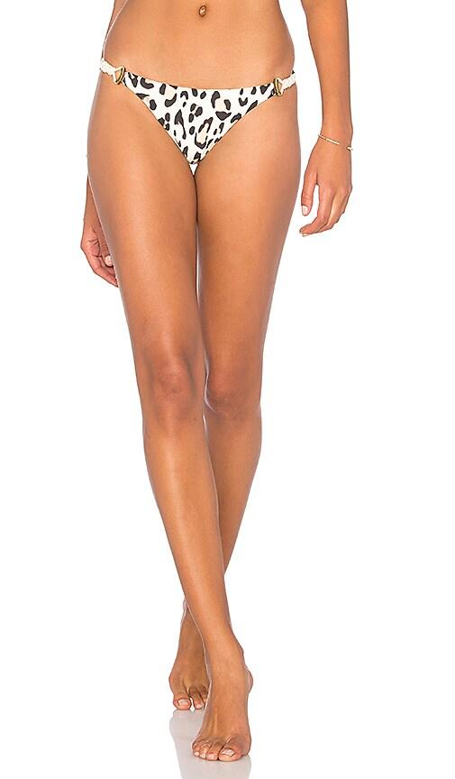 Vix Swimwear Cord Brazilian Bottom in White