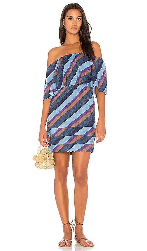 Vix Swimwear Ivy Dress in Blue