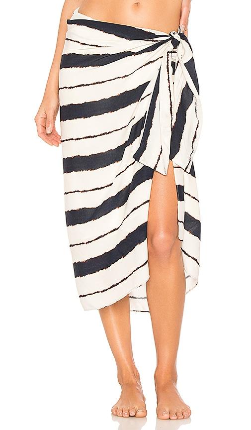 Vix Swimwear Stella Pareo Skirt in Ivory