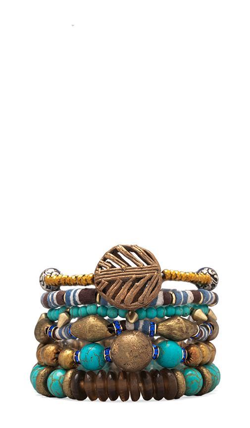 Misty Mountain Bracelet Stack