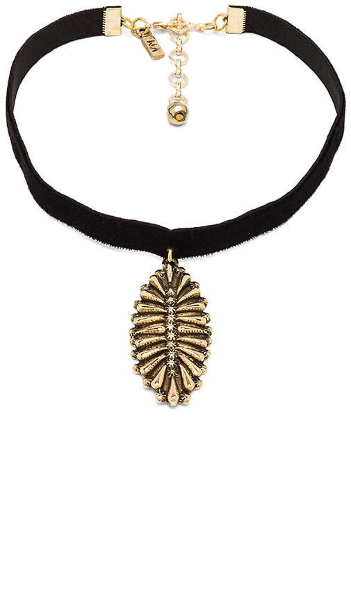 The Black Velvet Western Charm Choker