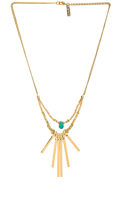 Vanessa Mooney The Crossroads Necklace in Gold