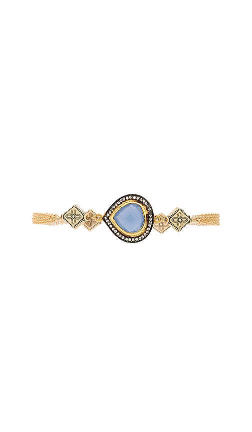Vanessa Mooney Rhythm & Blues Bracelet in Blue Chalcedony