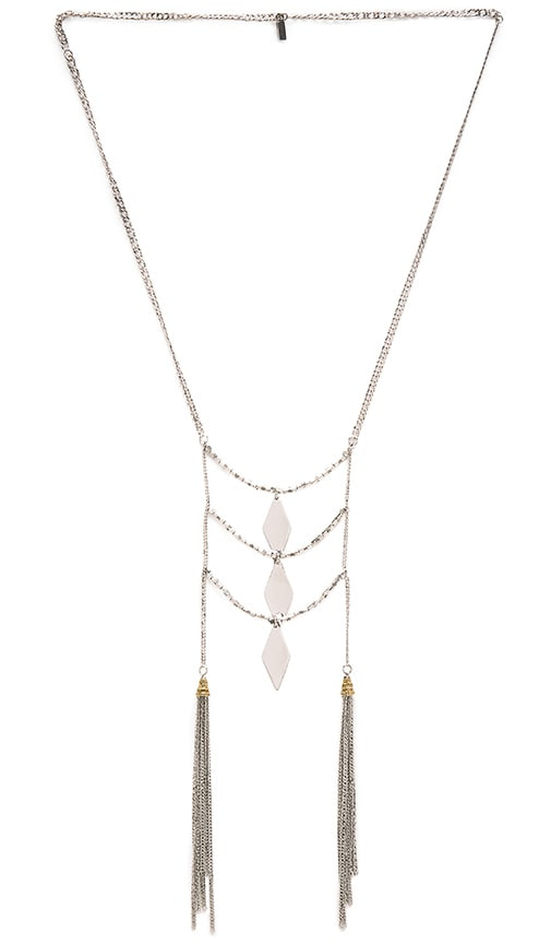 Vanessa Mooney Light My Fuse Necklace in Silver