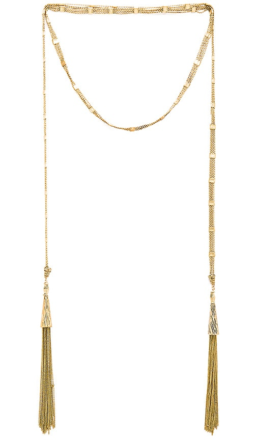 Shoot to Thrill Wrap Necklace