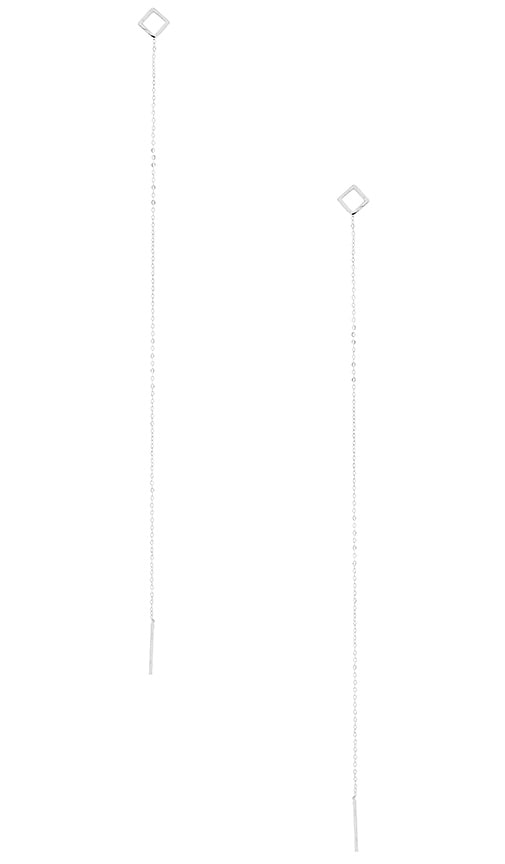 Vanessa Mooney Casablanca Chain Earring in Silver