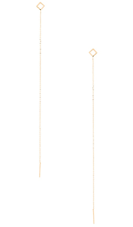Vanessa Mooney Casab Lanca Chain Earring in Gold