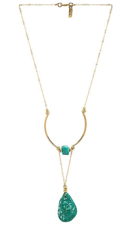 Vanessa Mooney Honey-Rider Necklace in Metallic Gold