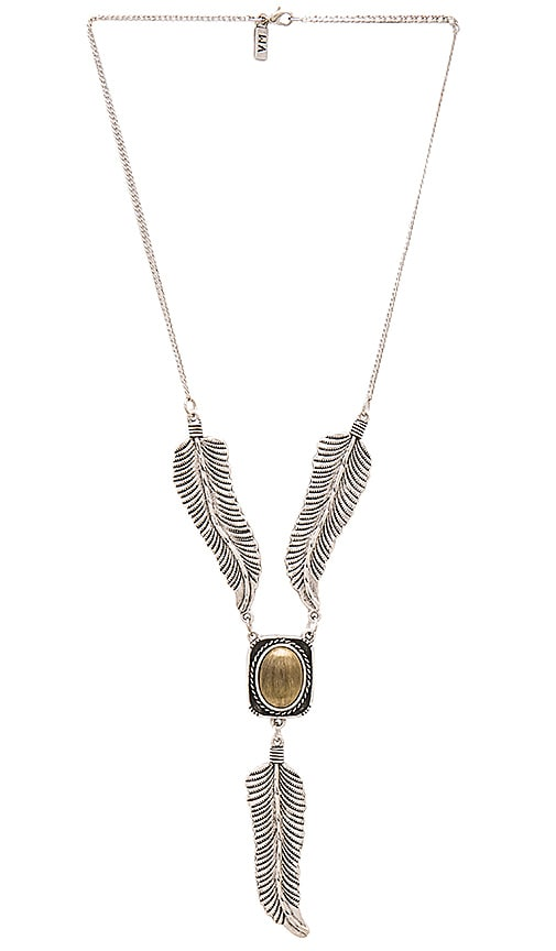 Vanessa Mooney Amiga Necklace in Metallic Silver