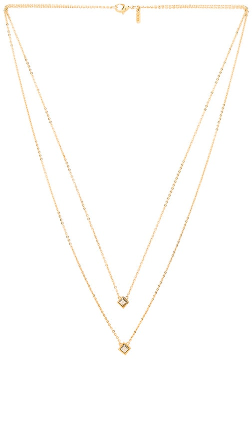 Vanessa Mooney Comets Necklace in Metallic Gold