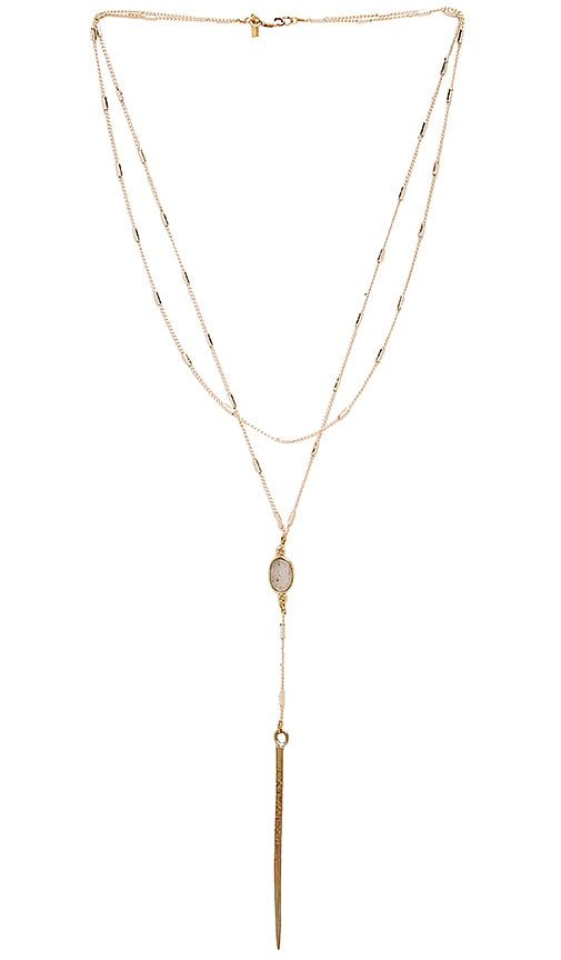Vanessa Mooney Courtney Necklace in Gold
