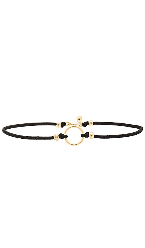 COLLIER RAS DU COU GOLD RING