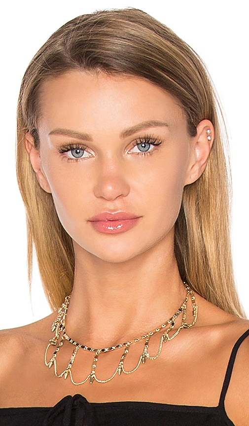 Vanessa Mooney x REVOLVE Sonora Choker in Metallic Gold
