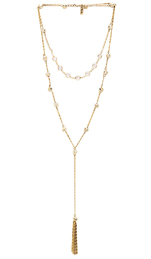 Vanessa Mooney x REVOLVE Brooke & Nina Necklace in Metallic Gold