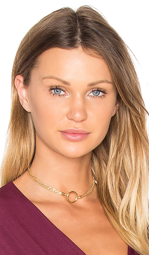 Vanessa Mooney x REVOLVE Choker in Metallic Gold