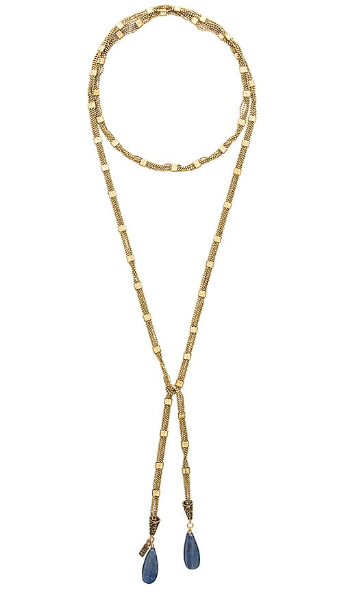 Vanessa Mooney x REVOLVE Wrap Chain Necklace in Metallic Gold 8l5hFR8