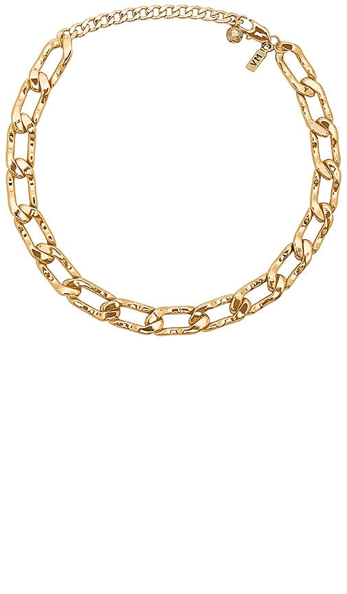 Vanessa Mooney Lucy Choker in Metallic Gold