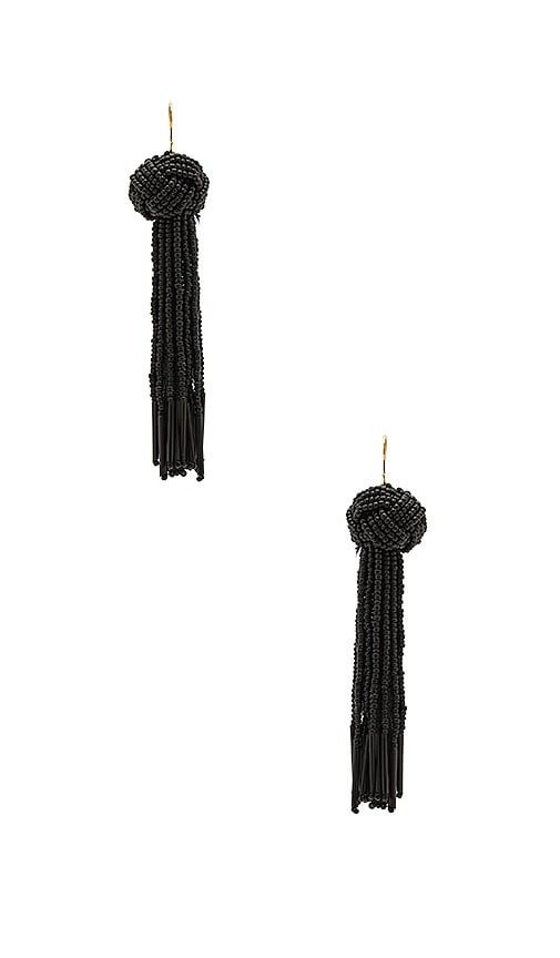 Vanessa Mooney x REVOLVE Darla Earrings in Black