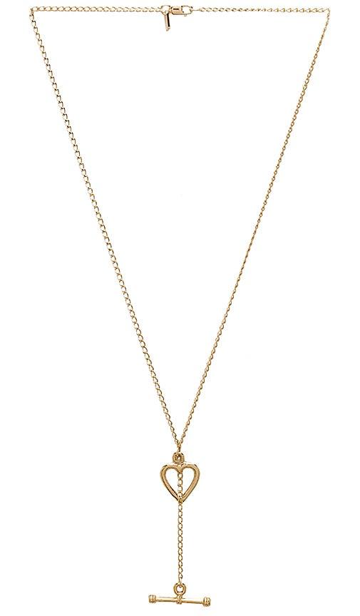Vanessa Mooney Jasmine Necklace in Metallic Gold