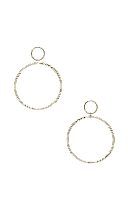 Vanessa Mooney Cadillac Earrings in Metallic Silver