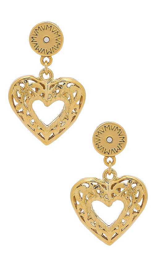 The Charlotte Heart Earrings