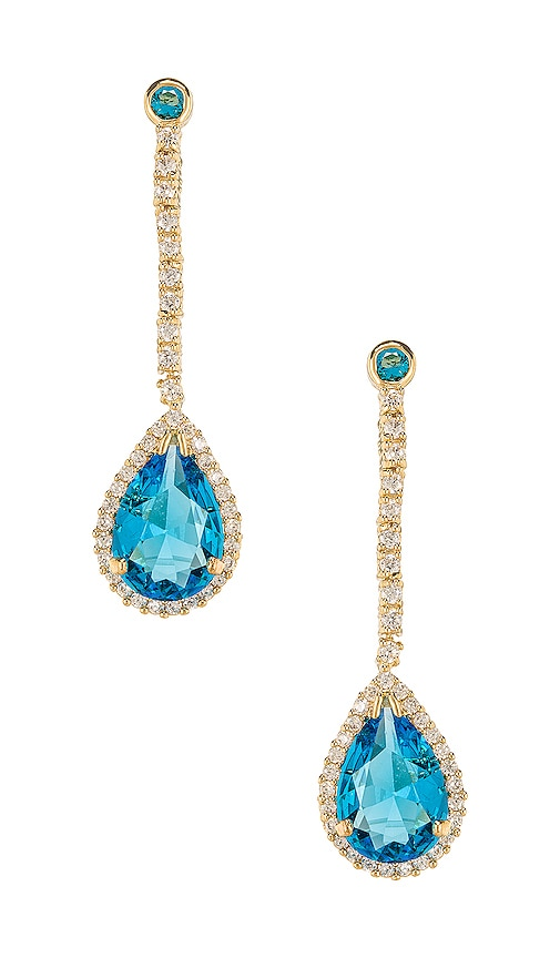 bb3a74a65 Vanessa Mooney The Hocus Earrings in Light Blue | REVOLVE