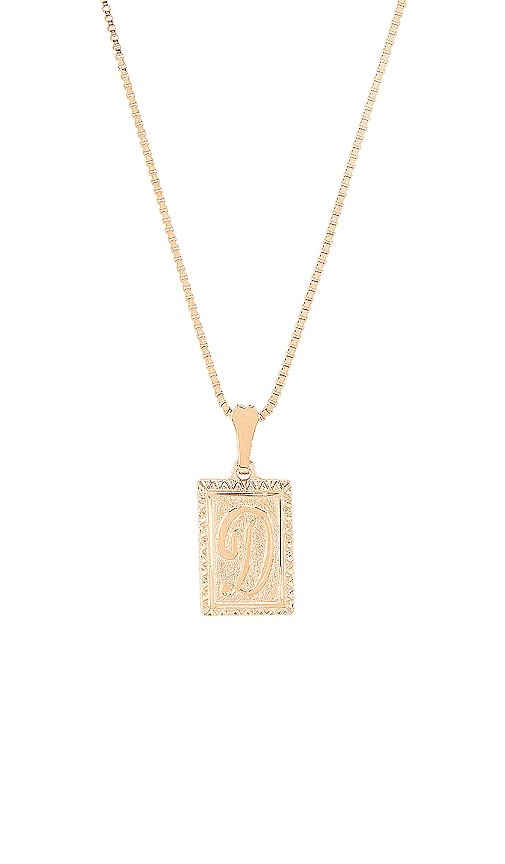 The London D Initial Necklace