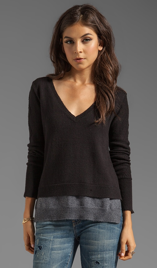 Excitement Double Layer Sweater