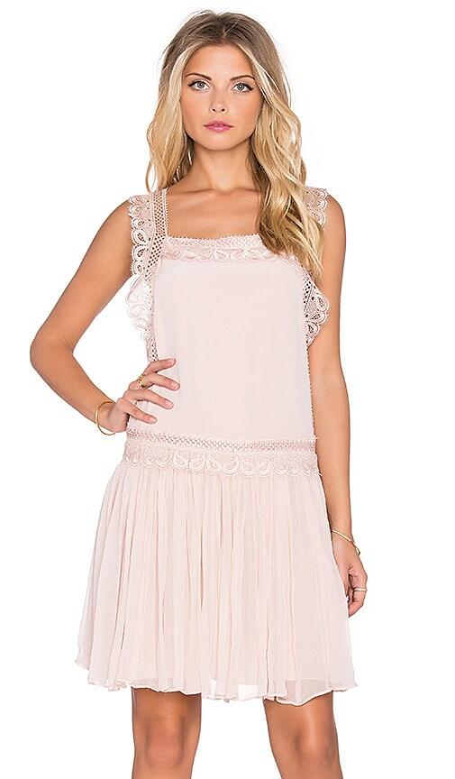 The Allflower Creative The Allflower Depth Dress in Nude Pink