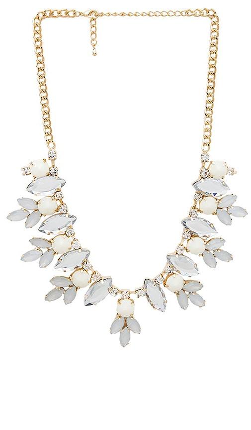 Multi Gem Floral Necklace