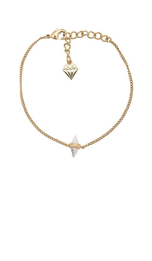 Wanderlust + Co Calypso Bracelet in Metallic Gold