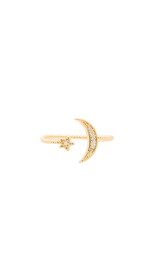 Crescent & Star Ring