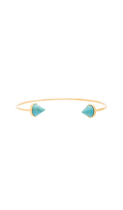 Dusk To Dawn Turquoise Spike Cuff