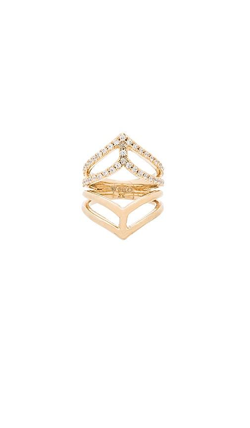 Geo Armour XL Crystal Ring